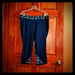 Like new Black exercise pants 18/20